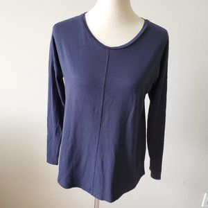 Boden Womens Navy Blue Long Sleeve Top   Size 8